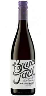 Bruce Jack Pinotage Malbec, South Africa